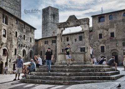 San Gimingano / Olaszország